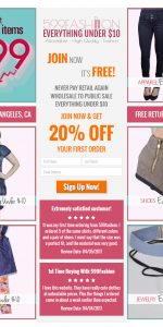 599fashion_signup_landing_page